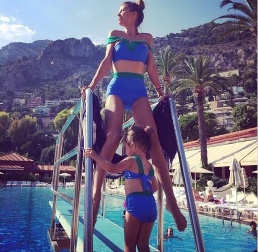 Виктория Боня показала фото с отдыха в Монако