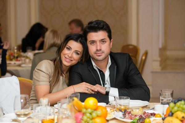 Ани Лорак с мужем на дне рождения Подкопаевой
