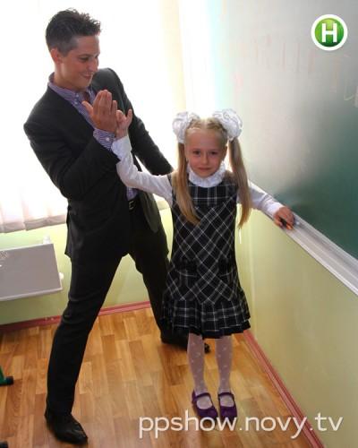 Александр Педан с дочерью Лерой
