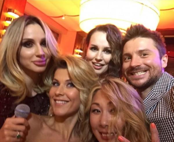 Украинские звезды активно участвуют в светской жизни российского шоу-бизнеса