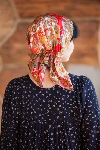 Как сшить платки на голову 33