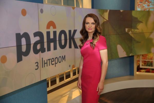 Ирина Юсупова – ведущая телеканала Интер