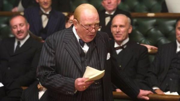 Финни в роли Уинстона Черчилля