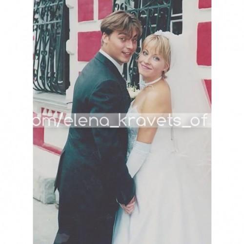 Елена Кравец с мужем Сергеем Кравец