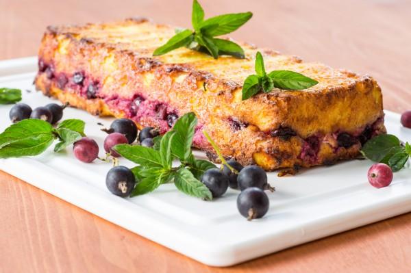 Рецепт                  Летний пирог с ягодами