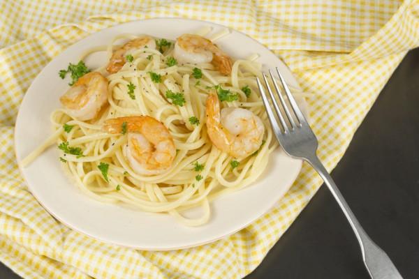 Паста с морепродуктами видео рецепты