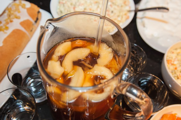 Яблочно-мандариновый компот