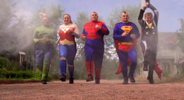 Зважені та щасливі 6 сезон: участники надели костюмы супергероев
