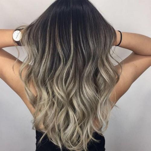 Шатуш: Модное окрашивание на темные волосы
