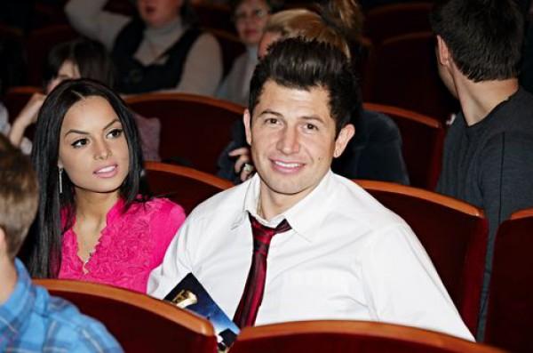 Андрей Джеджула с новой девушкой