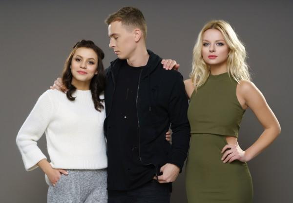 Оксана, Богдан и Карина фото