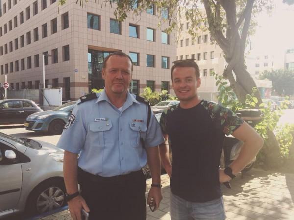 Максим Хотиленко в Израиле фото
