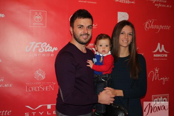 Григорий Решетник с семьей