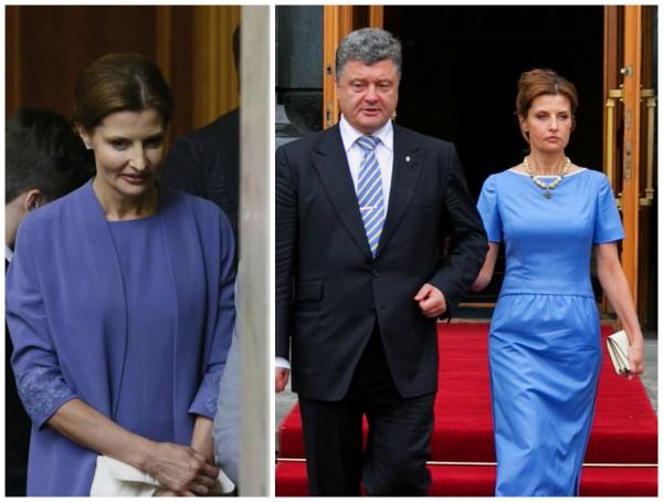 Инаугурационный гардероб первой леди Марины Порошенко создали дизайнеры Лилия Пустовит и Виктория Гресь