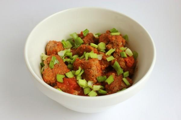 Рецепт                  Мясные тефтели в томатном соусе