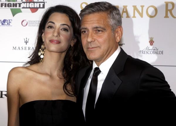 Джордж Клуни и Амал Аламуддин