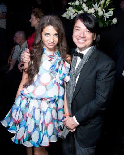 Валентин Юдашкин с единственной дочкой Галиной