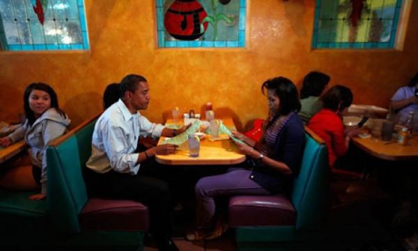 рассказ с женой в ресторан