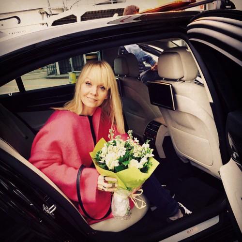 Валерия перед своим концертом в Лондоне