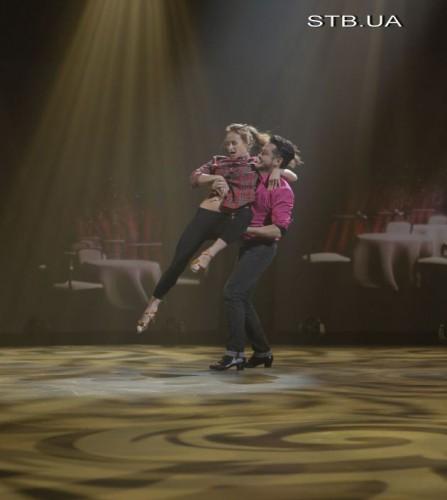 Эктор и Алиса во время репетиции