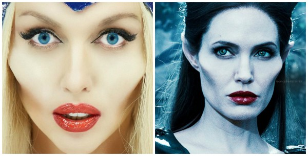 Оля Полякова примерила образ Анжелины Джоли из фильма