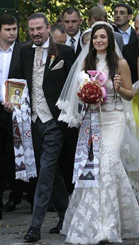 Бракосочетание дочери Юлии Тимошенко Евгении и английского музыканта