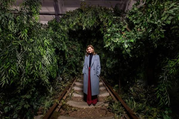 Елена Зеленская посетила выставку Ukraine WOW