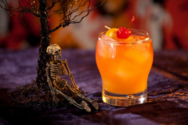 Коктейль на Хэллоуин