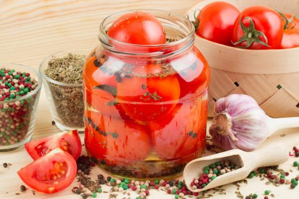 Консервированные помидоры без стерилизации