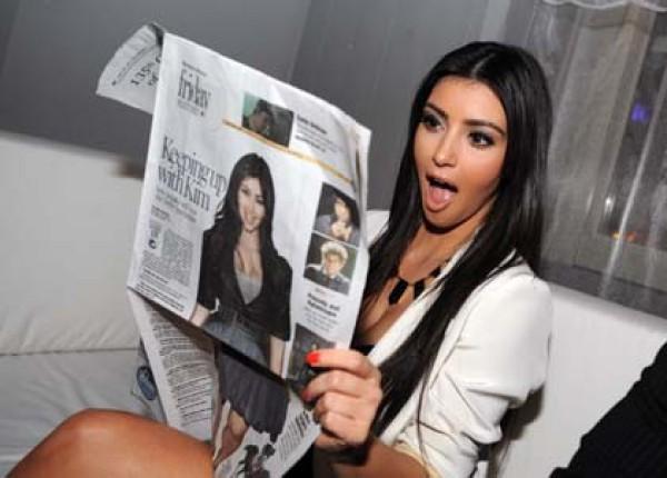 Ким Кардашян радуется, что не застала ураган Сэнди