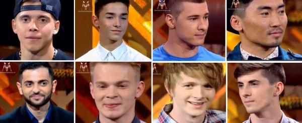 Участники. которые прошли во второй тур шоу Хочу к Меладзе по результатам третьего эфира