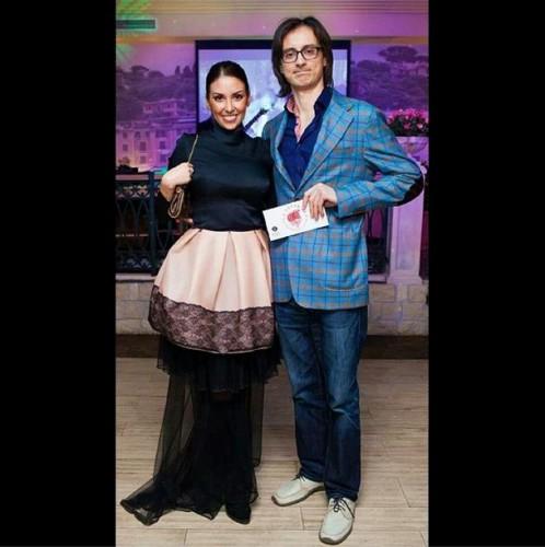 Татьяна Найник со своим женихом