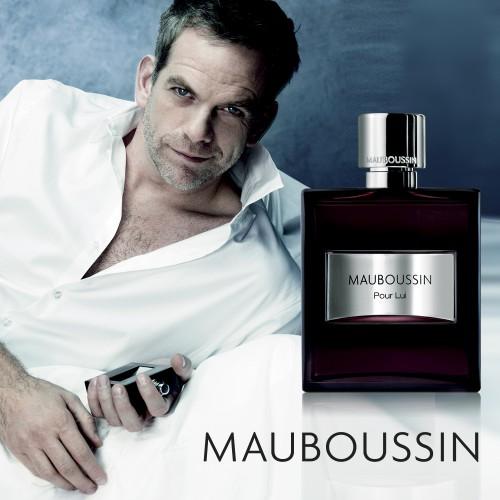 Лицом аромата Mauboussin Pour Lui стал талантливый французский исполнитель Гару