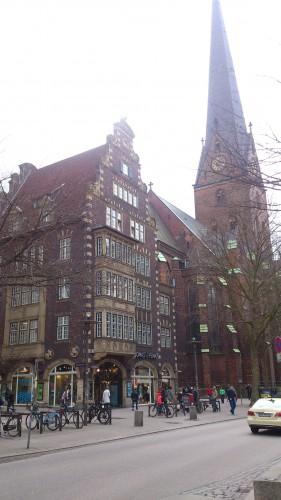 Торговая улица Moenckebergstrasse