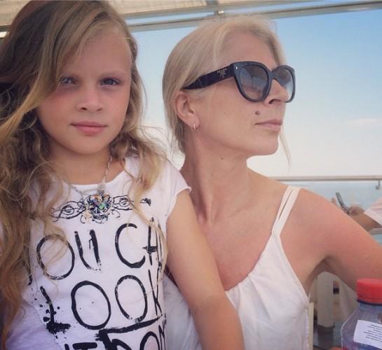 Ольга Фреймут показала маму и дочь/ instagram.com/freimutolia