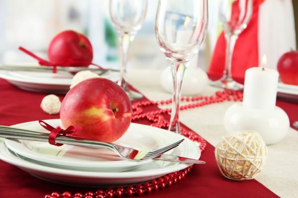 Сервировка стола к Яблочному Спасу
