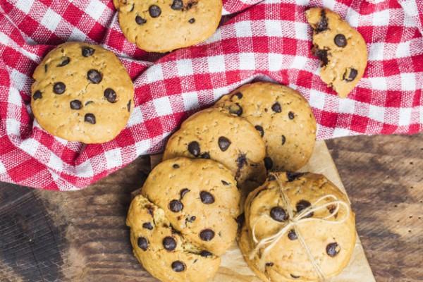 Детское печенье с кусочками шоколада