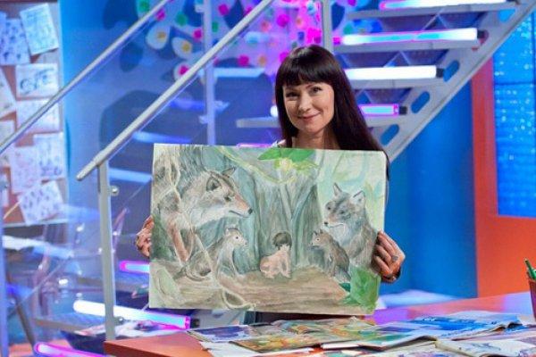 Рисунки Насти, дочери Нонны, сейчас