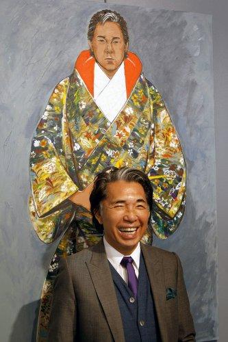 Кензо Такада лично откроет свою первую выставку картин в Украине