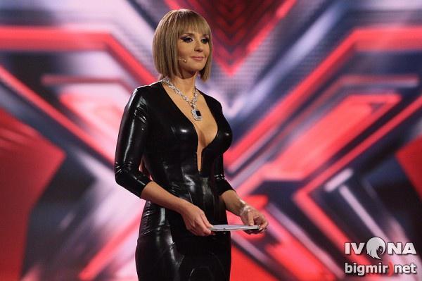 Оксана Марченко в сексуальном платье
