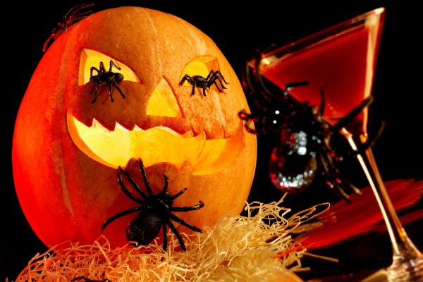 Сервировка на Хэллоуин
