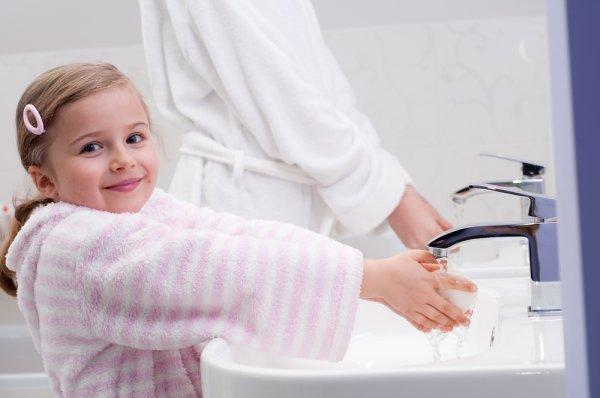 Мытье рук – эффективное средство предотвращения инфекционных заболеваний