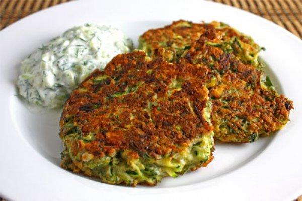 оладьи из овощей рецепт с фото