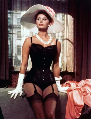 Софи Лорен всегда очаровывала зрителей