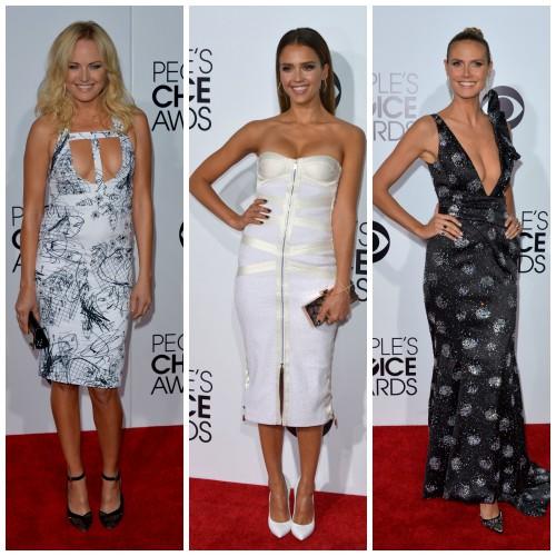 Звезды для People's Choice Awards выбрали соблазнительные образы