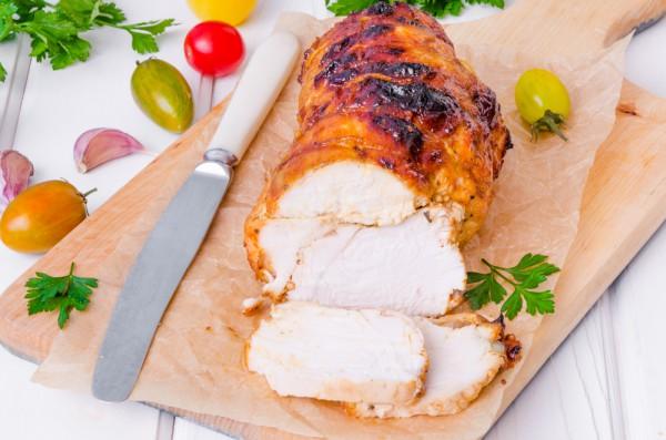 Куриная пастрома с медовым маринадом