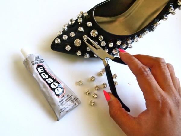 Украсить туфли своими руками фото