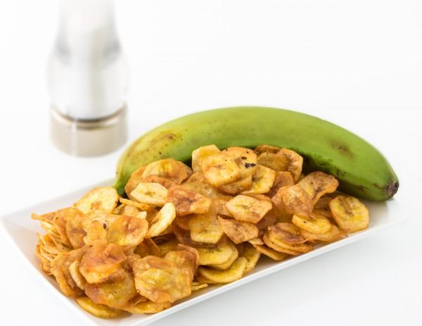 Жареные банановые чипсы