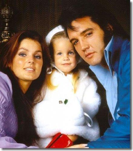 Элвис очень любил свою дочь