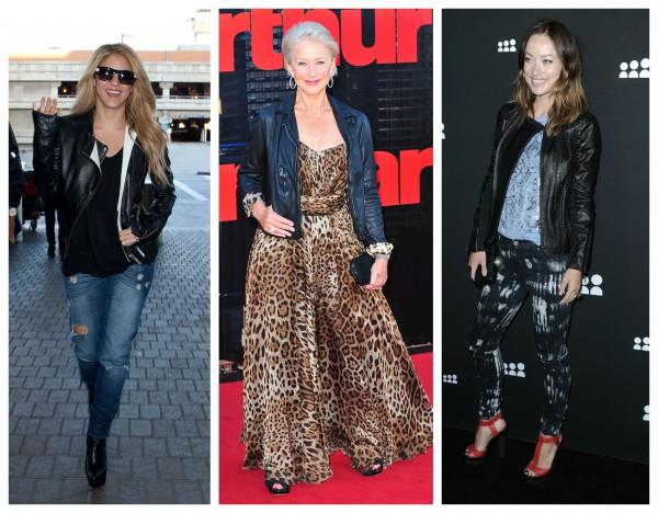 Кожаные куртки: женские гардеробы без них уже не обходятся